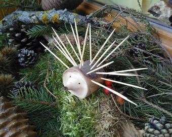 Hedgehog holder toothpick