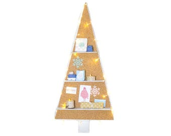 Christmas Tree Cork-pinboard, Advent calendar