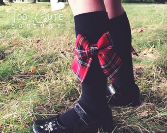 One Pair Bow Socks