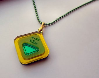 Peridot - Steven Universe Necklace