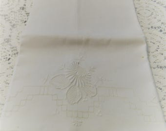 2 Candlewick Pillowcases some small brown spots