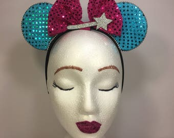 Cinderella's Fairy God Mother Mickey Ears