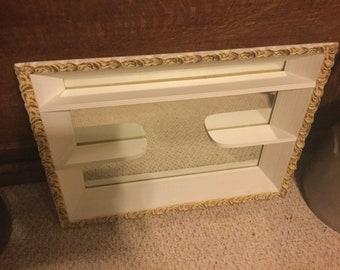 Vintage Mirror Shadow Box