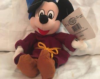 Vintage Mickey Mouse plush toy