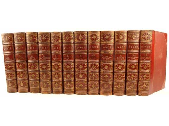 1842 Sir Walter Scott Waverley Novels, Abbotsford Edition. 1000s of illustrations