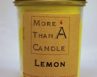 8 oz Lemon Soy Candle