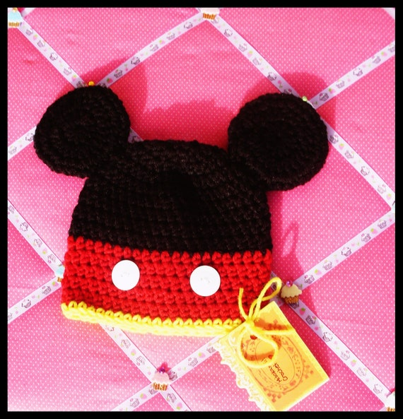 Crochet Pattern: Cute Mr. Mouse Hat