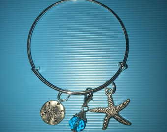 Beach themed Bangle