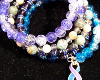 Rheumatoid Arthritis Awareness Bracelet