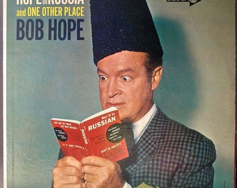 BOB HOPE Hope in Russia and One Other Place Original 1963 Vinyl