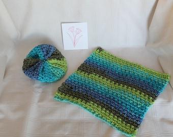 Crochet Dishcloths Washcloths Scrubby Handmade Housewarming Shower Gift