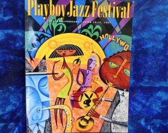 19th Annual Playboy Jazz Festival Program