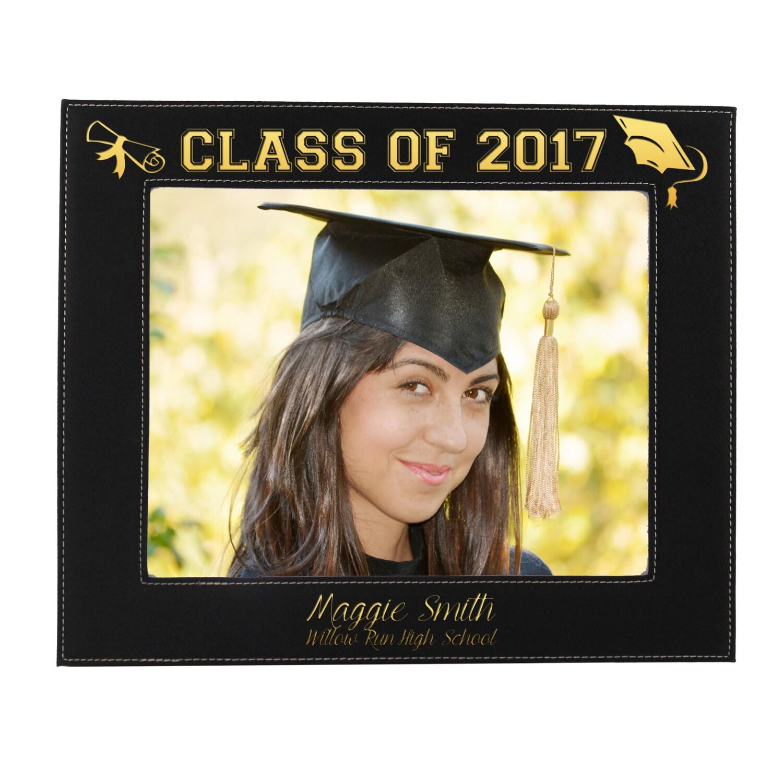 Graduation Picture Frame, Personalized Graduation Gift, Graduation ...