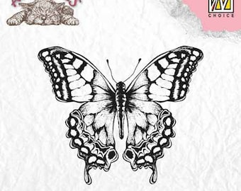 """Butterfly"" _ANI010 clear stamp"
