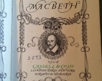 macbeth by shakespeare 1908