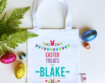 Personalised Easter Treat Bag