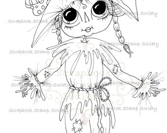 INSTANT DOWNLOAD Digital Digi Stamps Big Eye Big Head Dolls Digi   Besties Besties Of Oz IMG642 By Sherri Baldy