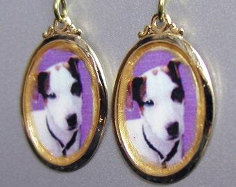 JACK RUSSELL  Dog Love Earrings