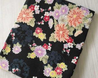 1 x tissustyle coupon Japanese sakura flower 100% cotton 48x140cm