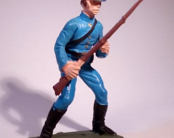 STARLUX - Civil war - Yankee soldier with rifle - Vintage - 70's