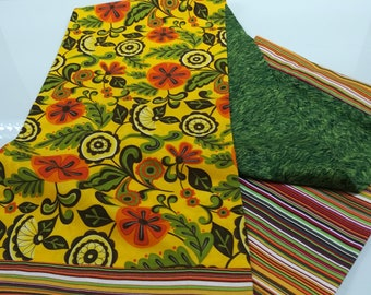 3 in 1 cotton fabric scarf