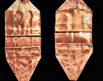 Copper & Lampwork Earrings