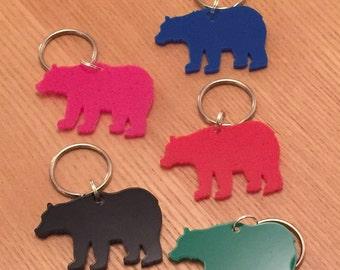 Bear keyring/bag charm in acrylic