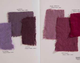 Fabric Samples SET 5 | purple & rose