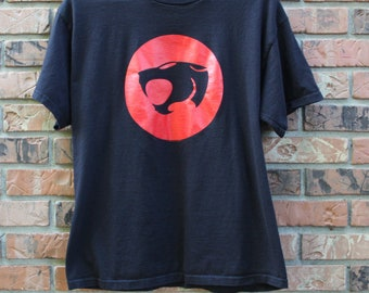 Vintage 1999 Thundercats Logo Delta Pro Weight T shirt Men's Sz. Large