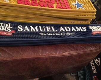 Sam Adams bar mat Virginia