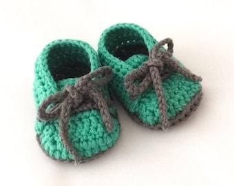 Cutie Baby Booties - Green