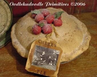 Cherry Pie Instant Digital Download E Pattern ET