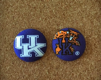 University of Kentucky Button Badge Reel Set