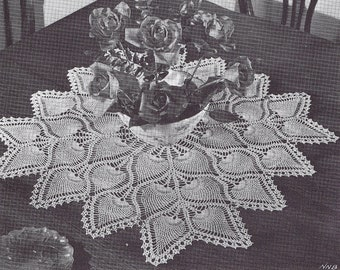 Pineapples on Parade, Coats Book Number 69, Vintage 1987, Pineapple Doilies, Pineapple Bedspread, Pineapple Placemat, Ruffled Doily,