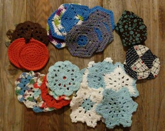 Crochet Coasters- Set of 2