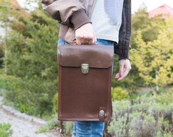 iPad bag Messenger bag Leather messenger bag iPad case