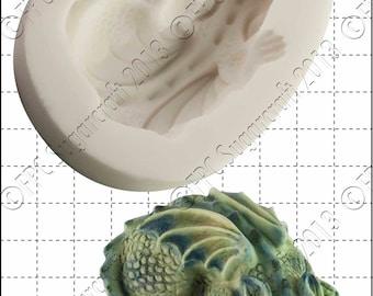 Stampo in silicone di drago - 'Baby Dragon' di Sugarcraft FPC | muffa, muffa di fimo, stampo di argilla del polimero, saponificazione muffa C104 in resina