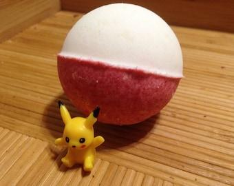 Poke Ball Bath Bomb
