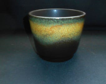 Mid Century German Ceramic Plant Pot by Sheurich in Germany