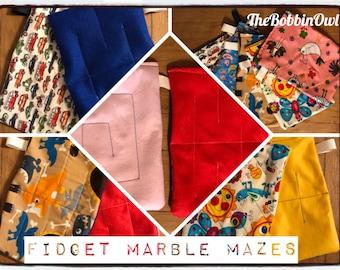 Fidget Marble Mazes