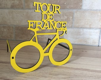 Tour De France Novelty Glasses