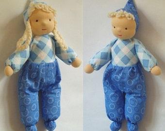 BONUS - Waldorf-Inspired Cuddly Elf Doll PDF Pattern PLUS Christmas Elf