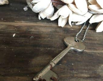 Skeleton Key Vintage Necklace