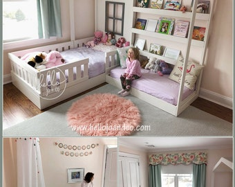 Twin Reading Nook Bed