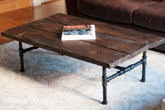 Delightful Items Similar To Industrial Pipe Coffee Table On Etsy