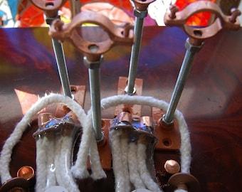 4 Wine Bottle Torch Hangers
