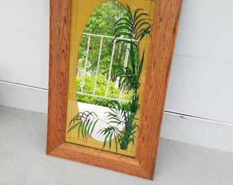 1980 Green Palms Mirror, Green Palms