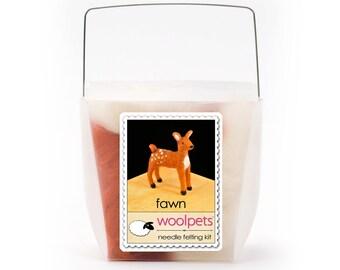 Fawn Needle Felting Kit