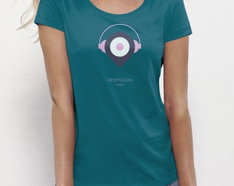 Headphoon Ocean | T-shirt Ladies | Eco-friendly