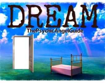 DREAM Interpretation Tarot & Oracle In  VIDEO and Jpg